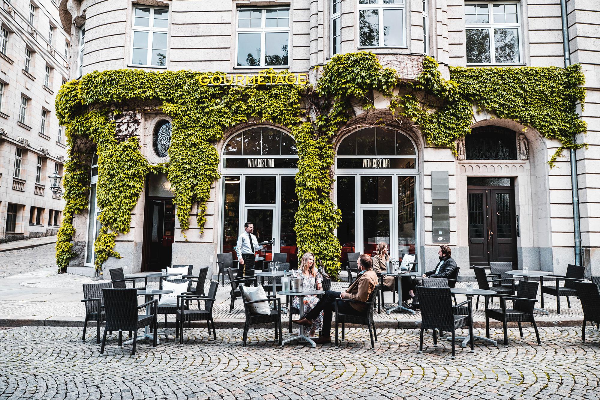 Bild Außenansicht Weinkostbar Leipzig